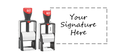 Signature Heavy Duty Stamps