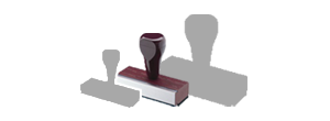 Medium Hand Stamps