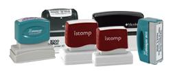 Rectangle Logo Address Stamps